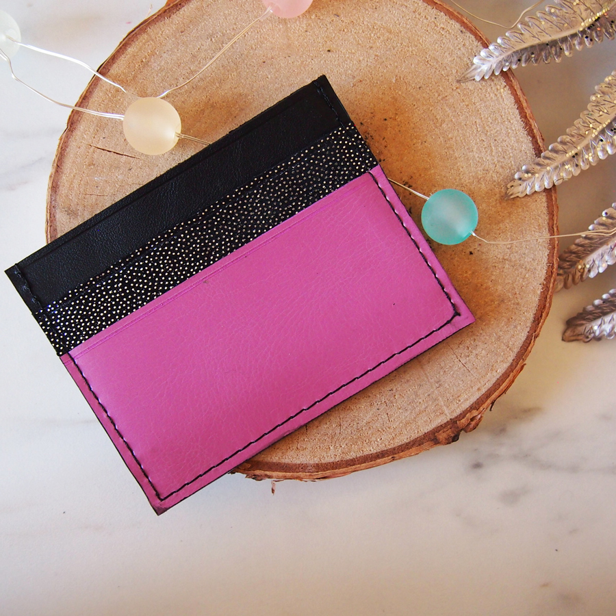 Porte cartes noir